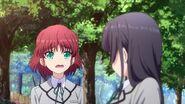 Mishima et Yumi après l'accident