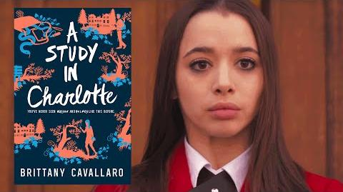 A STUDY IN CHARLOTTE by Brittany Cavallaro - Official Book Trailer