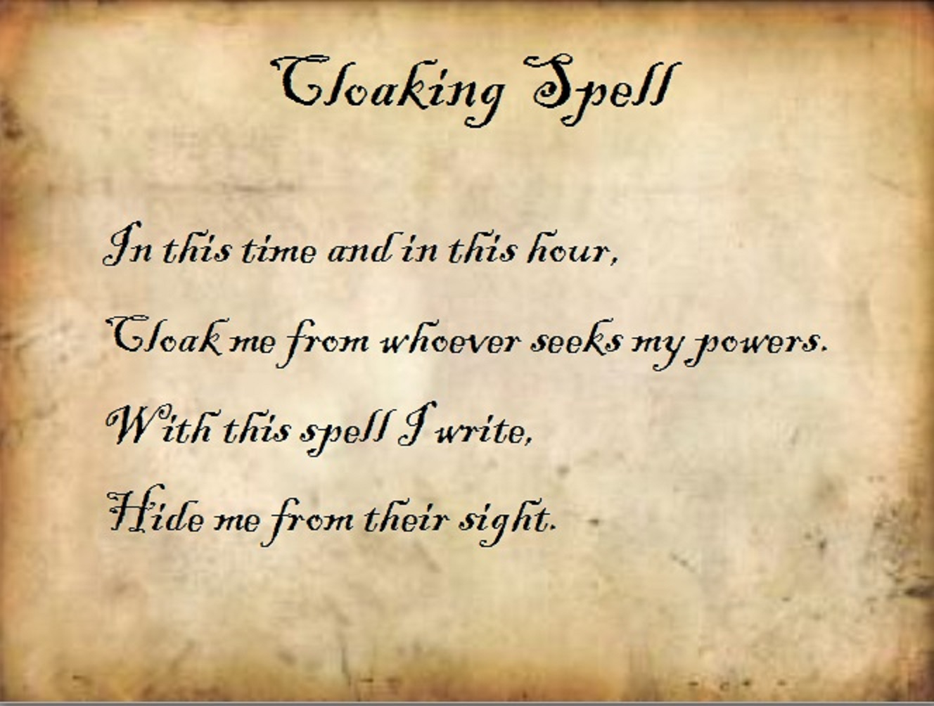 image cloaking spell jpg charmed fanfiction
