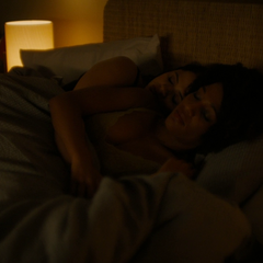 Ruby and Mel sleep together