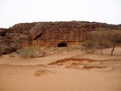 Desert-cavern