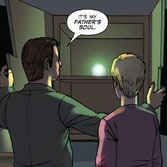 Benjamin's soul in the comics