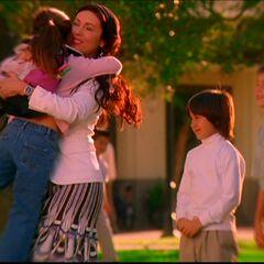 Phoebe with P.J, Chris and Wyatt