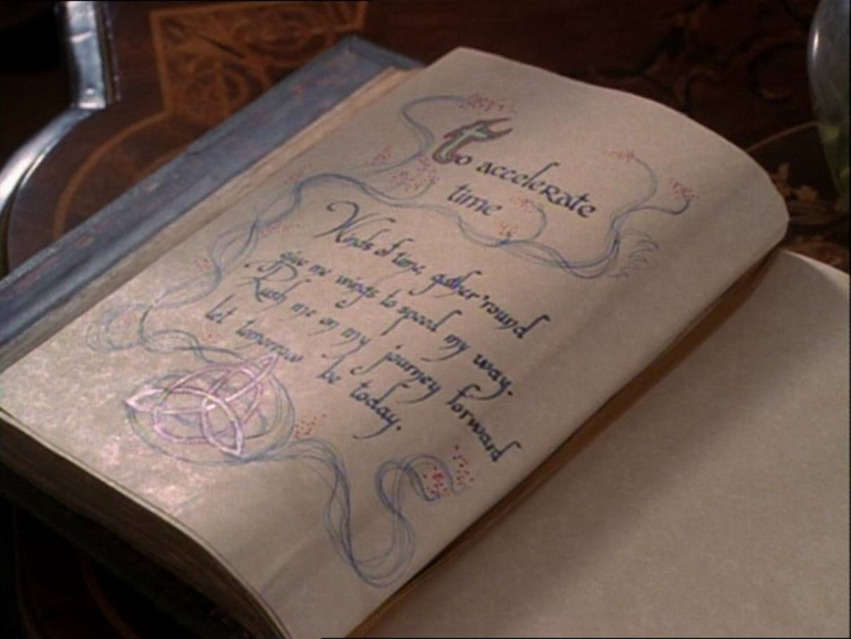 To Accelerate Time | Charmed | FANDOM powered by Wikia