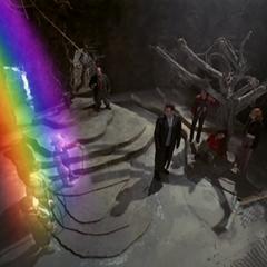 Leprechauns Rainbow Teleporting in.