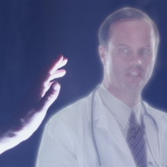 The Order uses a Hologram to spy on a doctor the sisters know.