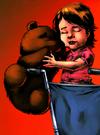 Orbing teddy 2