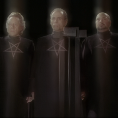In the past, the Triad manifested in Magic School.