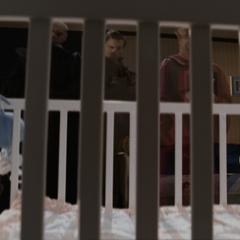 Several Order members shimmer in in Wyatt's room.