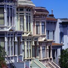 Homes in Castro District, San Francisco