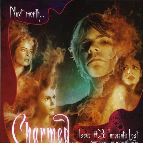 Charmed Issue #3 ad found in Issue #2