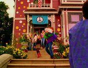 Manoir periode hippie