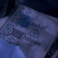 The Book of Shadows' title page