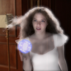 Olivia creating a Plasma Ball to kill Richard's dad.