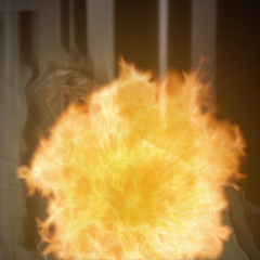 Piper blows him up before he can do so.