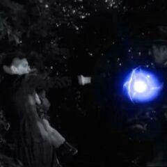 Elizabeth killed Benjamin with an energy ball