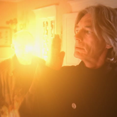 Barbas deviates Stimple's fireball, using Telekinesis.