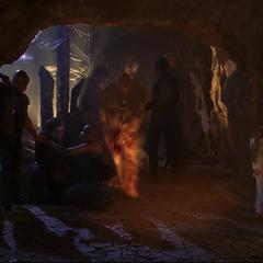 Paul Haas flaming in in the Underworld.