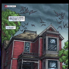 The manor in the comics.