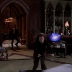 A Demon throws an Energy Ball at Pilar (shapeshifted into Piper).