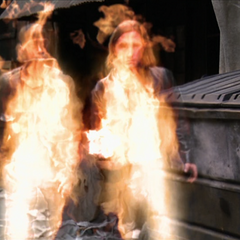 Two Demons flaming in.