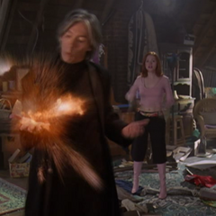 Piper tries to blow up Barbas.