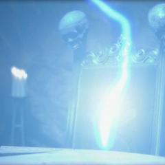 The Soul Blaster Demon using Lightning Teleportation.