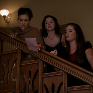 The Charmed Ones casting the spell.