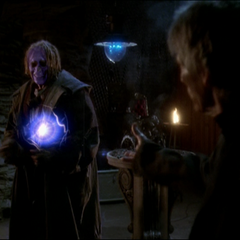 Barbas vanquished the Demonic Healer with an Energy Ball.