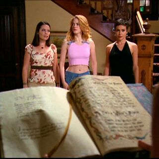 The Book of Shadows.