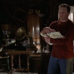 Wyatt Halliwell (held by Leo)