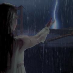 Piper creates a thunderstorm above San Francisco.