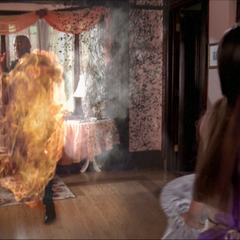 Piper blows up the Demons.