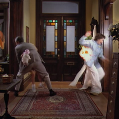 The Hellspawn Demon attacks Victor, Piper and Penny in Piper's memory.