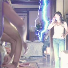 Leo using Lightning Teleportation.