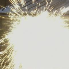 A Demon throws another Fireball.