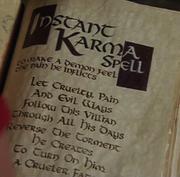 Instant-karma-spell