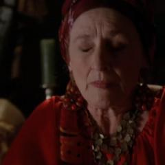 Teresa intercepts Phoebe's Premonition.