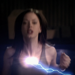 Paige is killed by Sirk's lightning bolt.