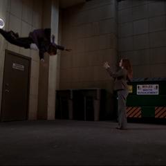 Piper freezes Walter Nance.