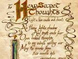 Formule pour entendre les pensées secrètes