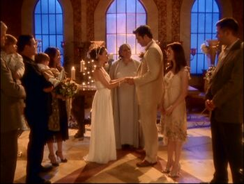 Wedding Of Phoebe And Coop Halliwell
