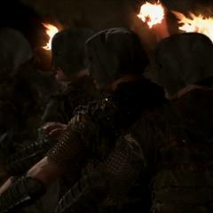 Swarm Demons aim their fireballs.