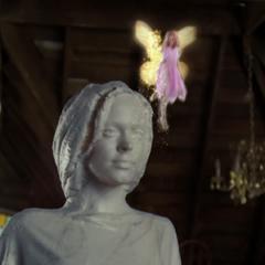 A Fairy flying.