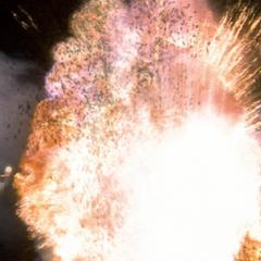 Piper blows up Salek.
