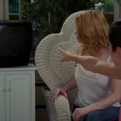 Phoebe feels Wyatt wants to watch TV.