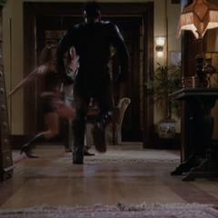 Phoebe using Hyper Speed.