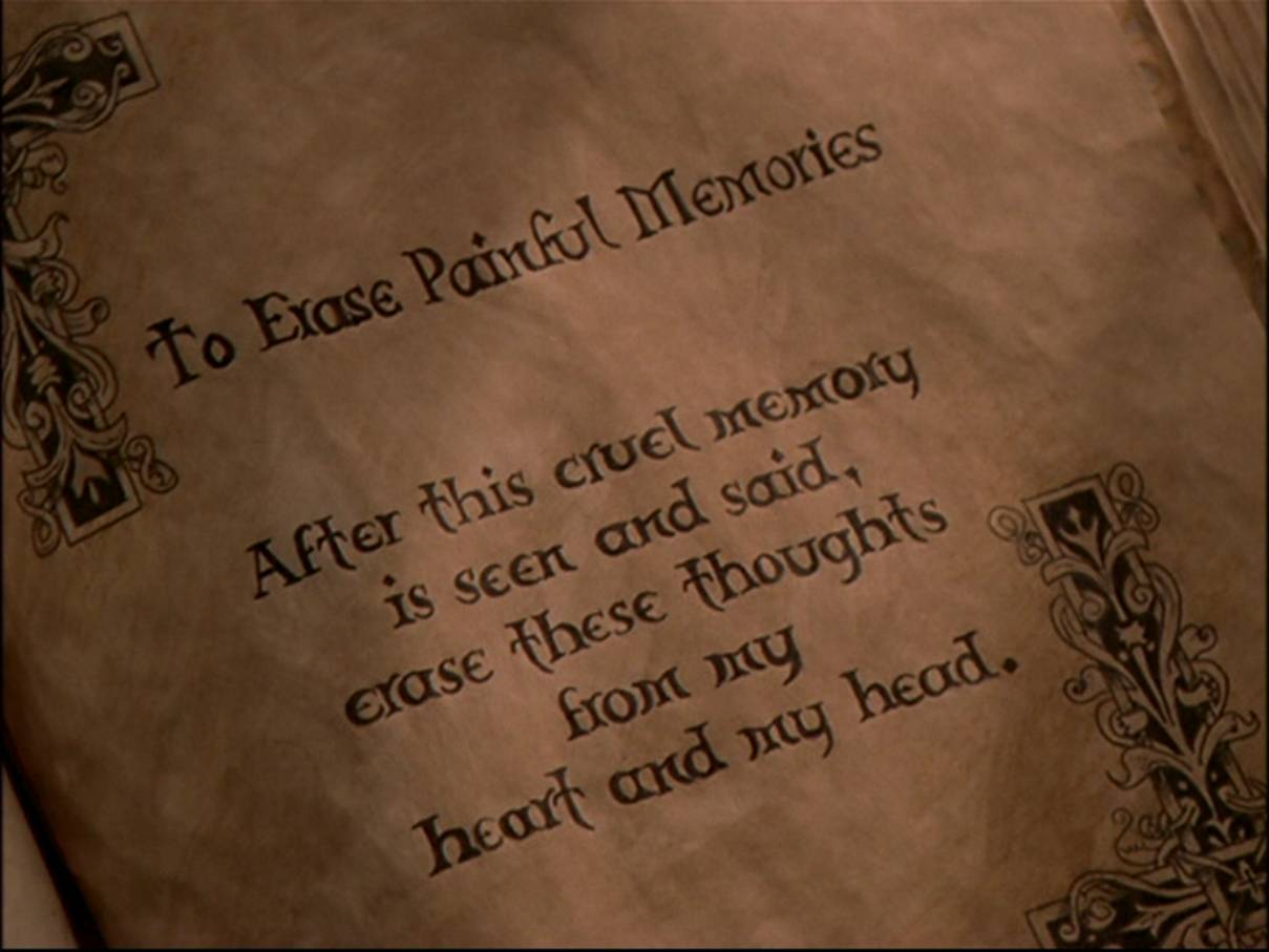 To Erase Painful Memories Charmed Fandom Powered By Wikia