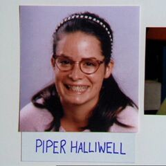 Piper's high school yearbook photo