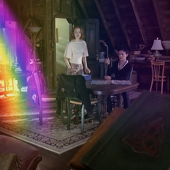 Phoebe calls for a Rainbow.